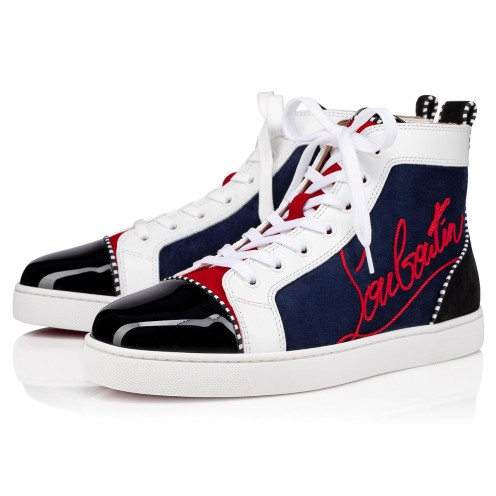 メンズシューズ - Navy Louis - Christian Louboutin