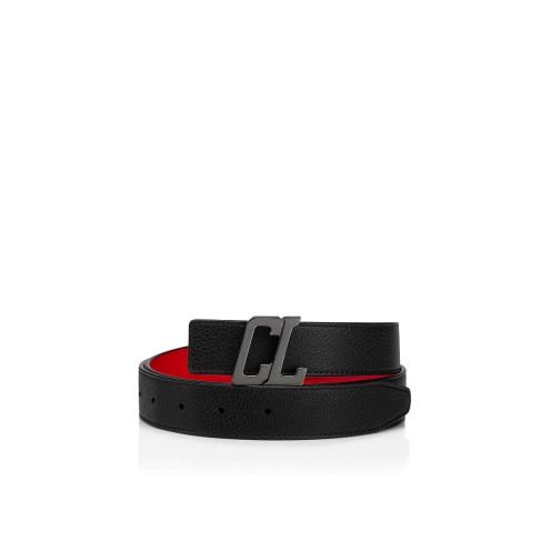 Belt - Happy Rui Cl Logo Belt - Christian Louboutin