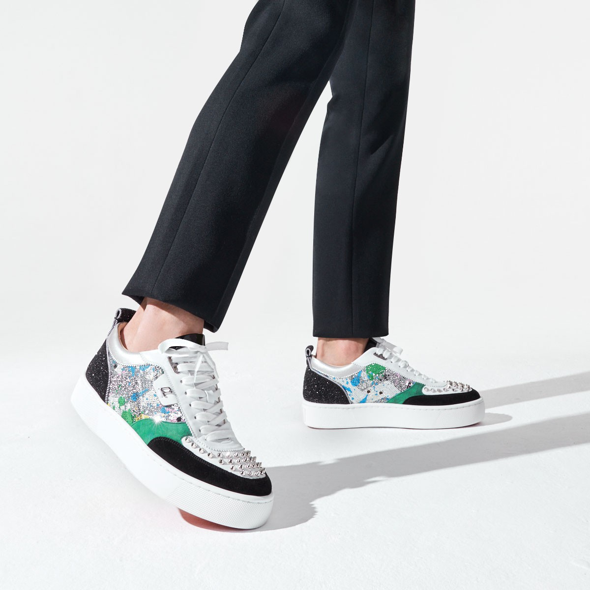 メンズシューズ - Happyrui Spikes - Christian Louboutin
